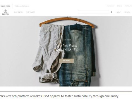 Men's Brand Taylor Stitch is Expanding Sustainable Fashion Through Circularity