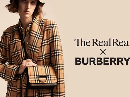 Burberry partners with The RealReal