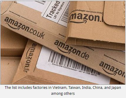 Amazon discloses supplier list for own brand products