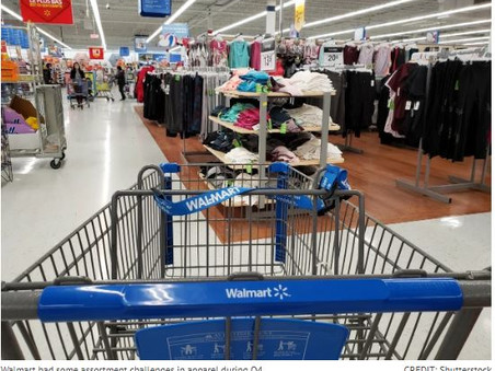 Walmart E-Comm Grew 35% in Q4, But Apparel Sales Suffered