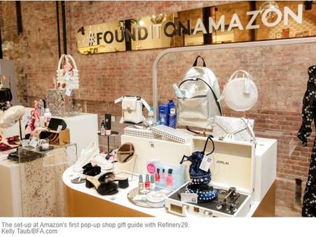 Amazon Readies for Leap Into Luxury Fashion