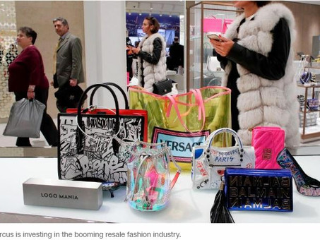 Neiman Marcus and H&M have a plan to win young shoppers: used clothes and handbags