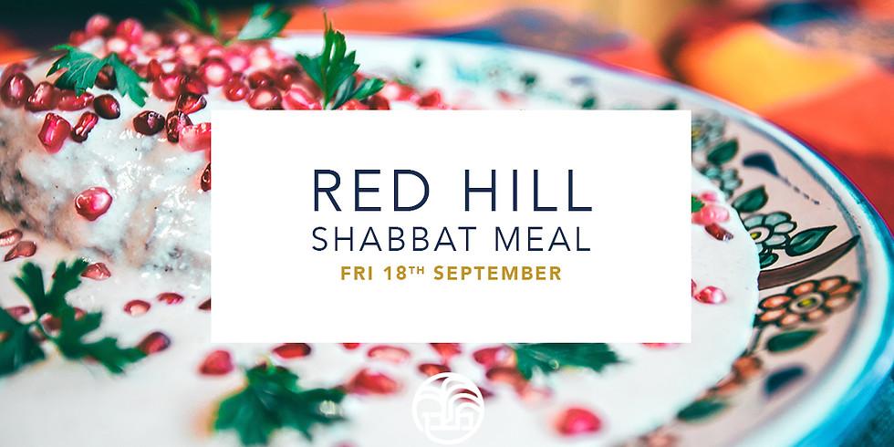 Rosh Hashanah - Shabbat Congregation Meal