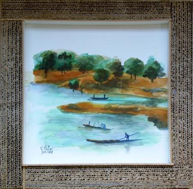 Djoliba et les pêcheurs