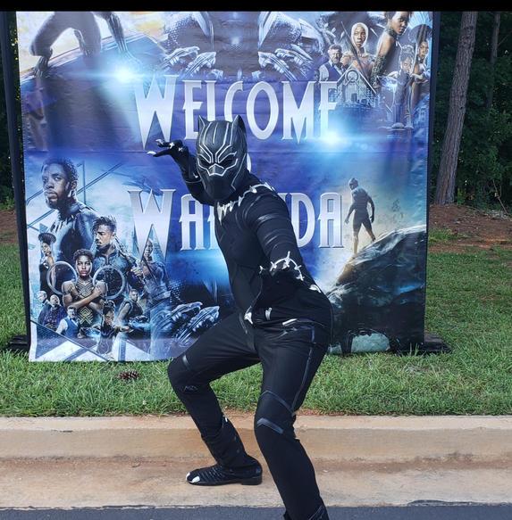 Black Panther Visits