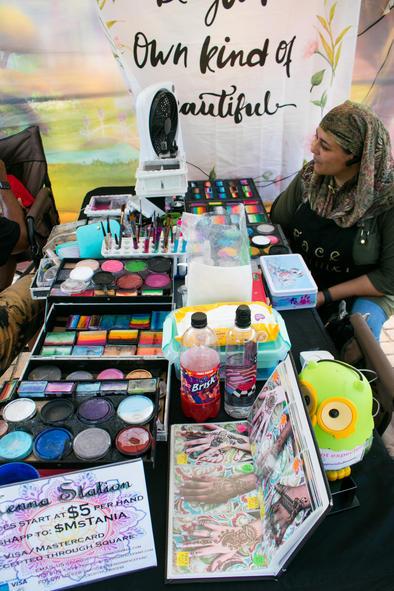 Face Paint Vendor