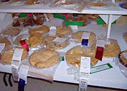Prize winning pies