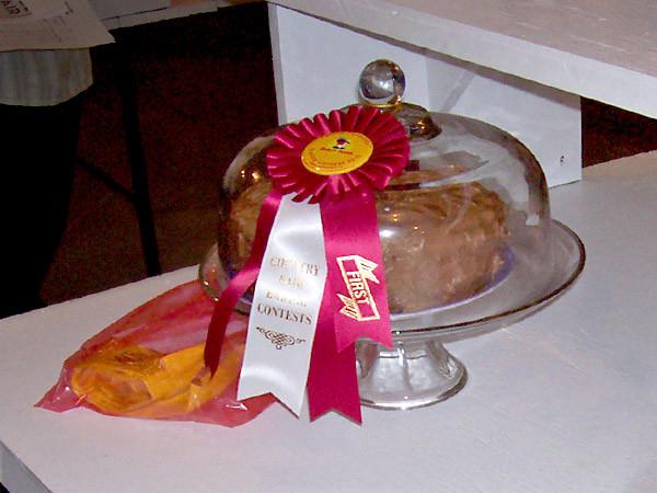 Prize-winning Cake