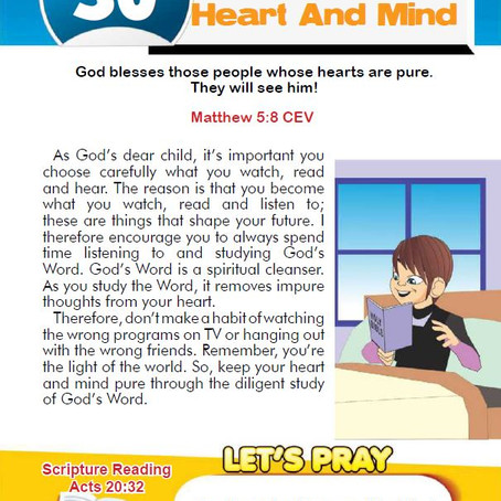 PURIFY YOUR HEART AND MIND