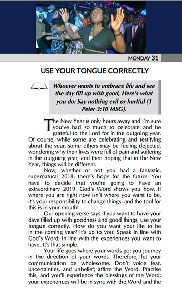 USE YOUR TONGUE CORRECTLY