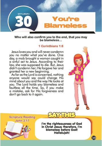 You're Blameless