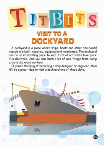 Titbits: Visit To A Dockyard