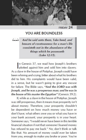 YOU ARE BOUNDLESS