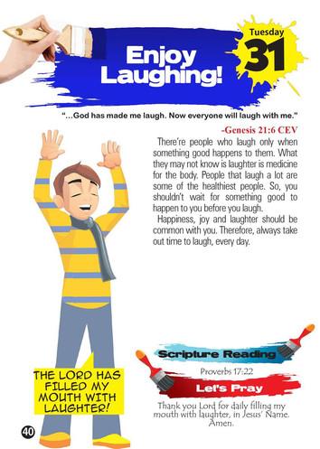 Enjoy Laughing!