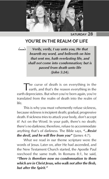 YOU'RE IN THE REALM OF LIFE