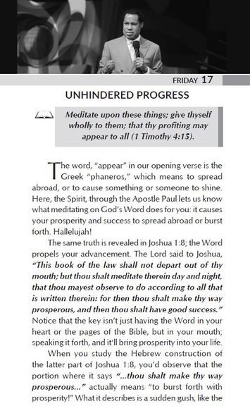UNHINDERED PROGRESS