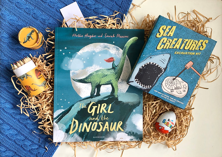Little Readers: The Girl and the Dinosaur