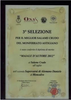 3^ edizione ONAS 2012