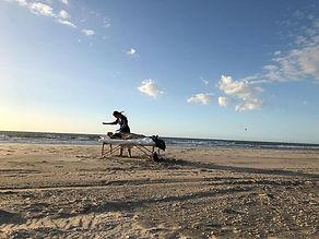 Symphony of Possibilities foto afbeelding linda verschuren op het strand