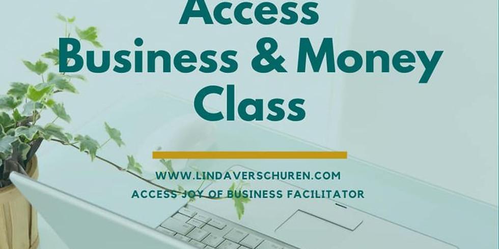 Access Business & Money Class Online 8 & 15 december