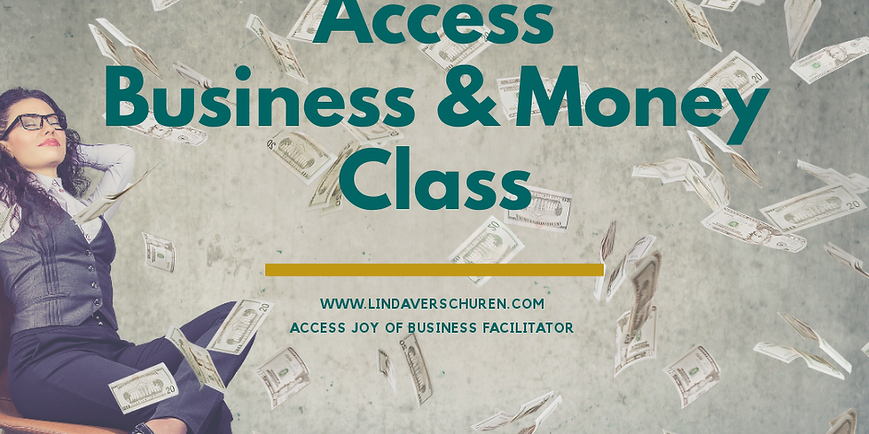 Access Business & Money Class Online 6 & 13 oktober