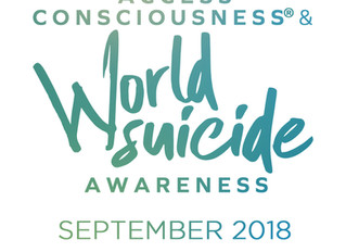 World Suicide Awareness Month