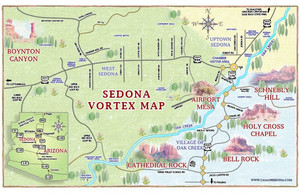 Sedona, Vortexes