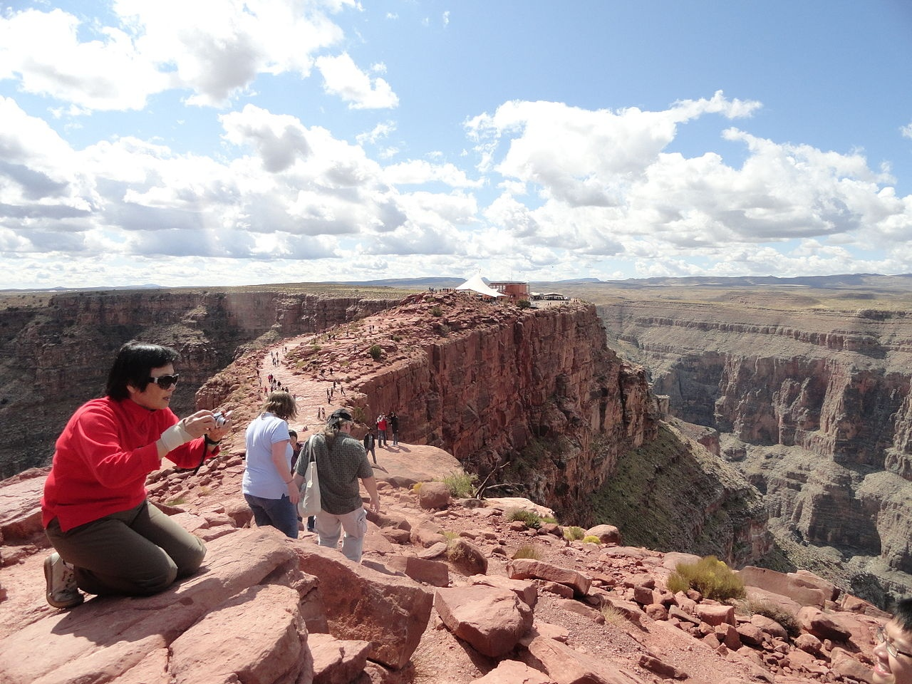Grand Canyon West, Guano Point