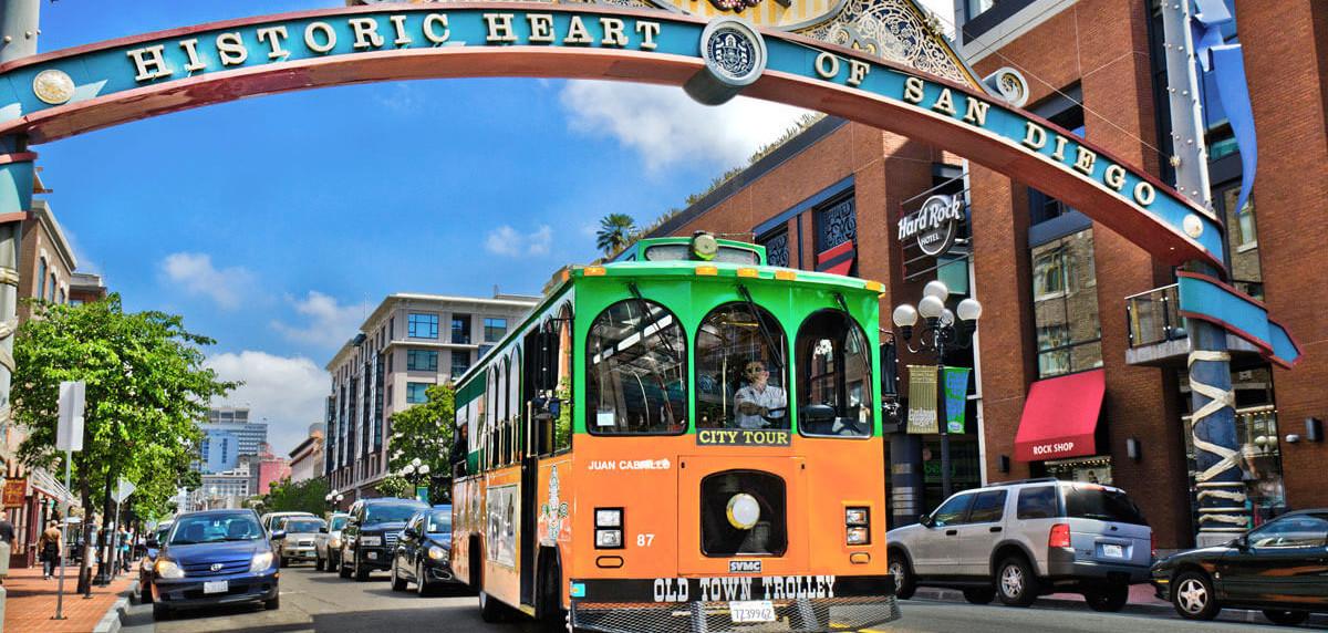 San Diego, Historic District