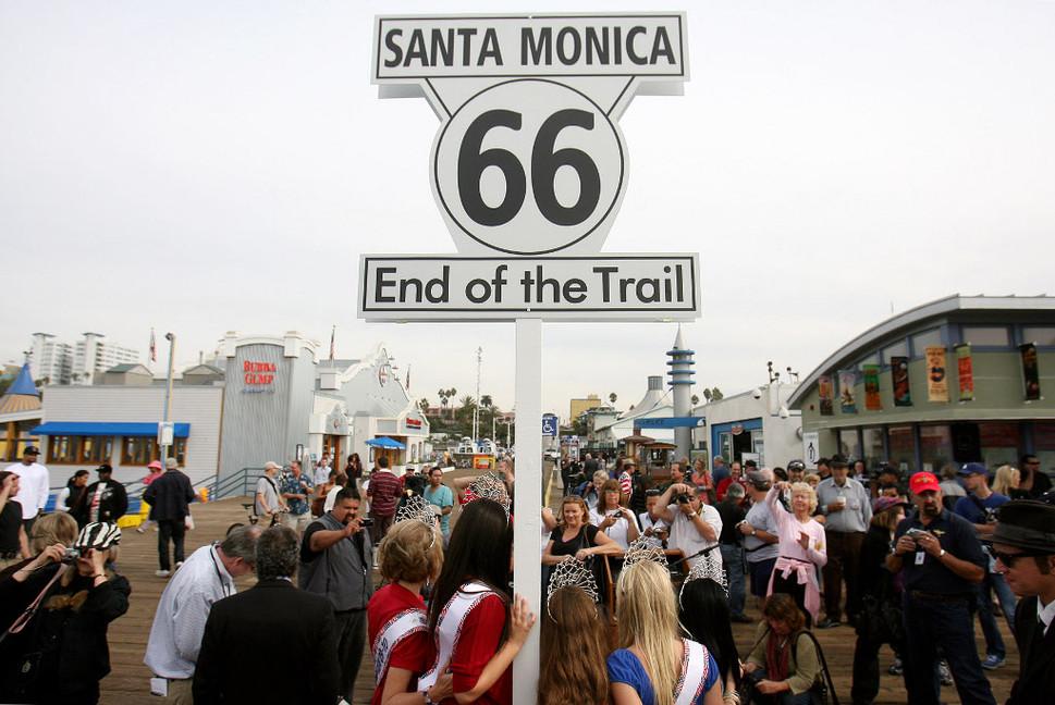 Santa Monica, Route 66