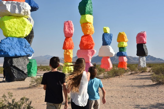 Seven Magic Mountains Art