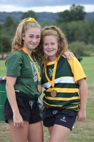 Provincial Regional Championships - Gold medal sisters