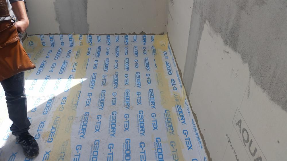 Impermeabilizzazione balconcini G-TEX ACTIVE - GEODRY