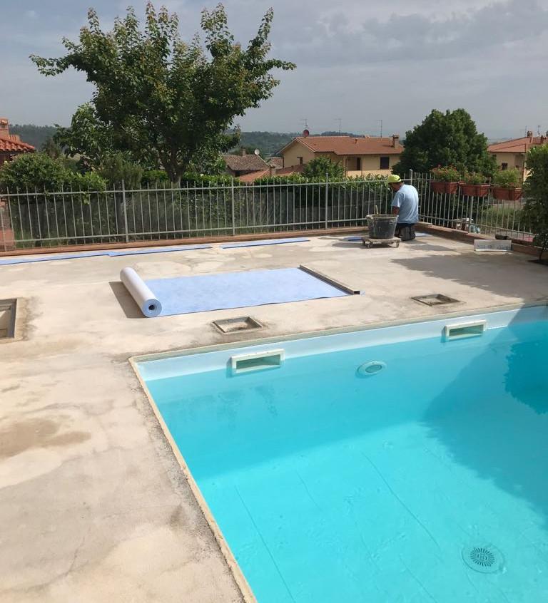 ripristino lastrico bordo piscina 12
