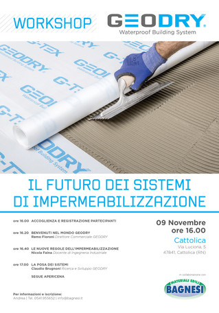 Altro giro, altro workshop!