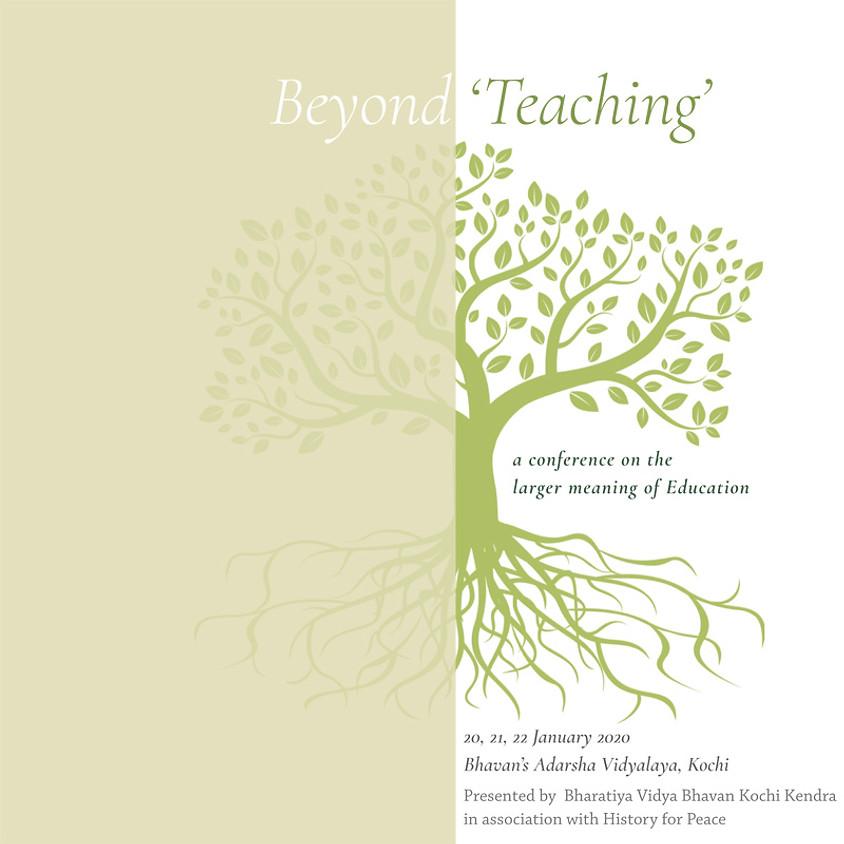 Beyond 'Teaching'