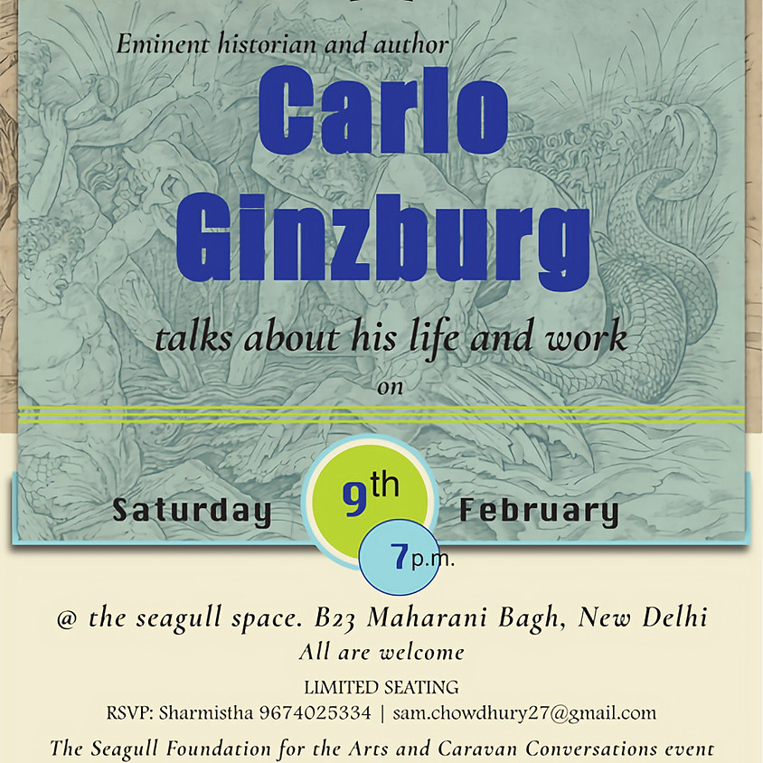 Carlo Ginzburg talks about his life and works