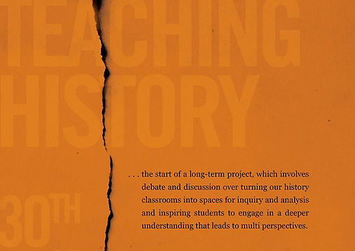 The International Conference on Teaching History - A report