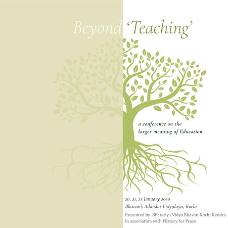 Beyond Teaching : The larger meaning of Education, 2020 - A report