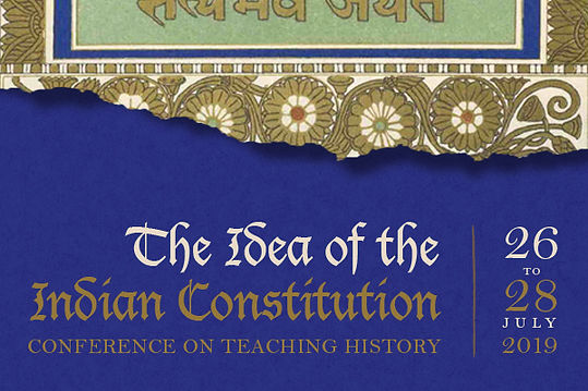 The Idea of the Indian Constitution (Calcutta), 2019 - A report