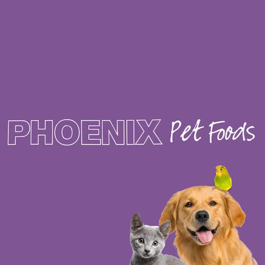 Logo design for pheonix pet foods