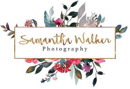 Logo created for Samantha Walker Photography