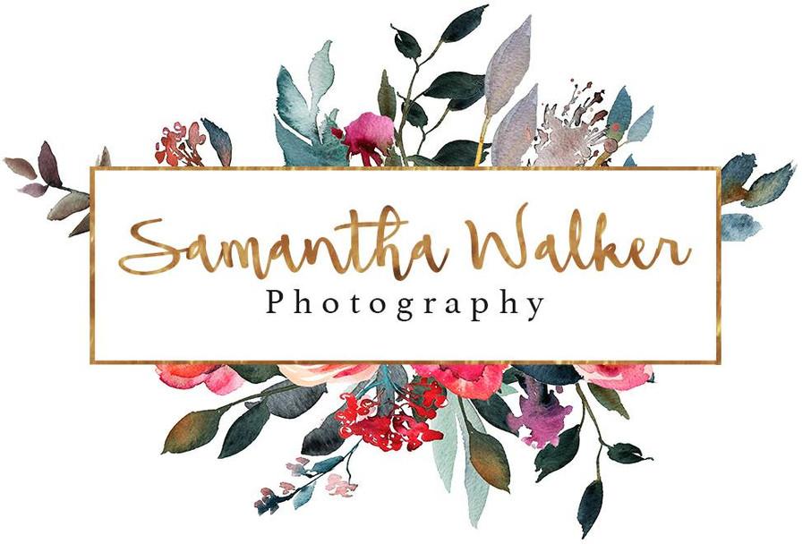 Logo created for Samantha Walker Photography