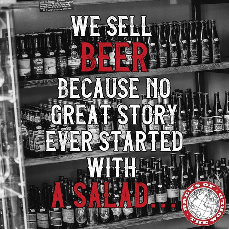 Quote pic created for Brews of the world