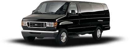 Ford Van that is used for transportation