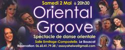 Oriental Groove 2015 à Bordeaux