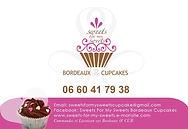 Ventes de cupcakes maison et gateaux pour tous types d'évènements et livraison sur Bordeaux.  Contact : sweetsformysweetscupcake@gmail.com 06.60.41.79.38
