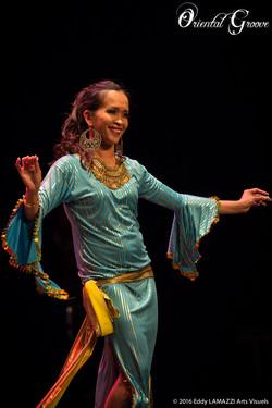 Änna danseuse orientale Bordeaux