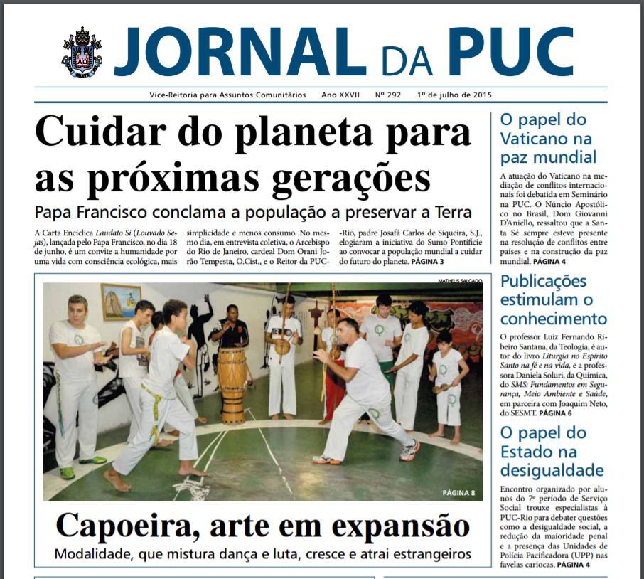 Jornal da PUC - 01/07/15