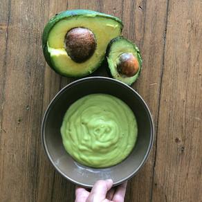 Avocado dressing.